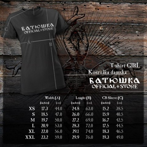 "BATUSHKA - ""PERESEKAT"" T-SHIRT GIRLY"