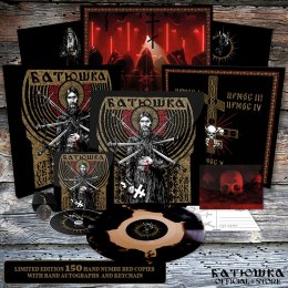 "BATUSHKA - ""РАСКОЛ"" / ""RASKOL"" 12"" LP WOOD BOX BLACK GOLD (PRE-ORDER)"