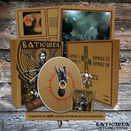"BATUSHKA - ""РАСКОЛ"" / ""RASKOL"" WOOD BOX GOLD CD (PRE-ORDER)"