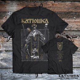 "T SHIRT BATUSHKA "" BISHOP "" BLACK"