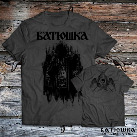 "T SHIRT BATUSHKA ""SHADOWS"" GRAPHITE"