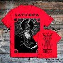 "T SHIRT BATUSHKA ""SHEMA MONK"" RED"