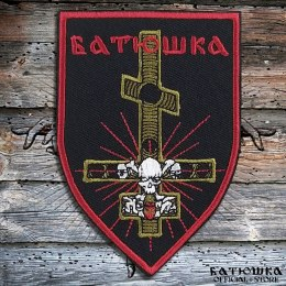 "EMBROIDERED BATUSHKA ""RASKOL CROSS"" PATCH"